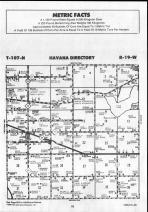 Steele County Map 015, Dodge and Steele Counties 1990