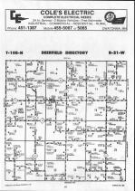 Steele County Map 017, Dodge and Steele Counties 1990