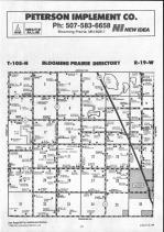 Steele County Map 021, Dodge and Steele Counties 1990
