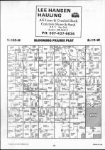 Steele County Map 022, Dodge and Steele Counties 1990