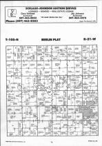 Steele County Map 024, Dodge and Steele Counties 1990