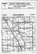 Steele County Map 025, Dodge and Steele Counties 1990
