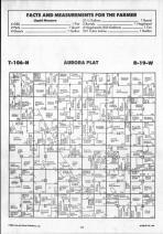 Steele County Map 026, Dodge and Steele Counties 1990