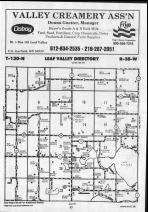 Leaf Valley T130N-R38W, Douglas County 1990 Published by Farm and Home Publishers, LTD