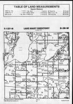 Lake Mary T127N-R38W, Douglas County 1990 Published by Farm and Home Publishers, LTD