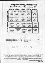 Table of Contents, Douglas County 1990 Published by Farm and Home Publishers, LTD