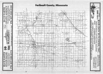 Index Map, Faribault County 1987