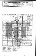 Spring Valley T103N-R13W, Fillmore County 1983 Published by Farm and Home Publishers, LTD