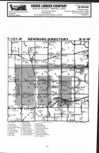 Newburg T101N-R8W, Fillmore County 1983 Published by Farm and Home Publishers, LTD