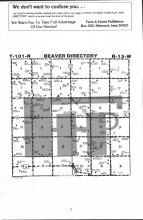 Beaver T101N-R13W, Fillmore County 1983 Published by Farm and Home Publishers, LTD