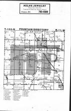 Fountain T103N-R11W, Fillmore County 1983 Published by Farm and Home Publishers, LTD