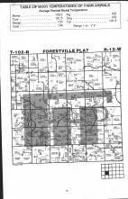 Forestville T102N-R12W, Fillmore County 1983 Published by Farm and Home Publishers, LTD
