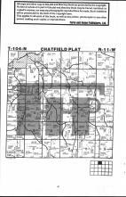 Chatfield T104N-R11W, Fillmore County 1983 Published by Farm and Home Publishers, LTD