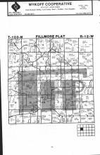 Fillmore T103N-R12W, Fillmore County 1983 Published by Farm and Home Publishers, LTD