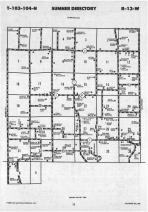 Map Image 005, Fillmore County 1988