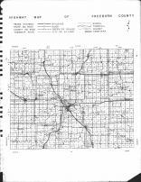 Freeborn County Highway Map, Freeborn County 1955 Published by Thomas O. Nelson Co