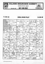 Shell Rock T101N-R20W, Freeborn County 1987 Published by Farm and Home Publishers, LTD