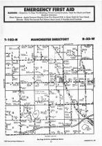 Manchester T103N-R22W, Freeborn County 1987 Published by Farm and Home Publishers, LTD