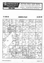 Geneva T104N-R20W, Freeborn County 1987 Published by Farm and Home Publishers, LTD