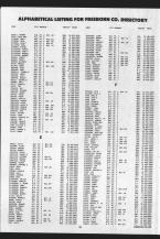 Landowners Index 011, Freeborn County 1989