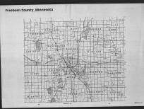 Index Map, Freeborn County 1989