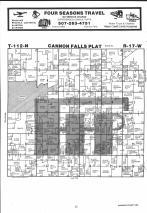 Cannon Falls T112N-R17W, Goodhue County 1983 Published by Farm and Home Publishers, LTD