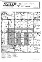 Pine Island T109N-R15W, Goodhue County 1983 Published by Farm and Home Publishers, LTD