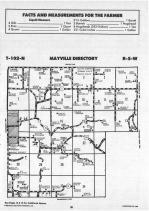Mayville, Crooked Creek T102N-R5W, Houston County 1988
