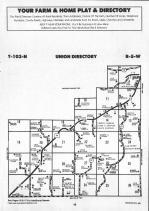 Union, Mound Prairie T103N-R5W, Houston County 1991 Published by Farm and Home Publishers, LTD