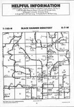 Black Hammer T102N-R7W, Houston County 1991 Published by Farm and Home Publishers, LTD