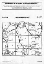 Sheldon, Houston T103N-R6W, Houston County 1991 Published by Farm and Home Publishers, LTD
