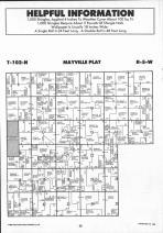 Mayville, Crooked Creek T102N-R5W, Houston County 1991 Published by Farm and Home Publishers, LTD
