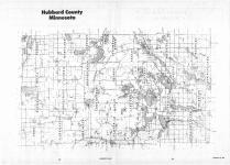 Index Map, Hubbard County 1987