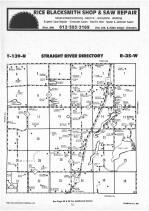 Straight River T139N-R35W, Hubbard County 1987