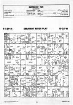 Straight River T139N-R35W, Hubbard County 1988 Published by Farm and Home Publishers, LTD