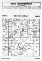 Crow Wing Lake T139N-R33W, Hubbard County 1988 Published by Farm and Home Publishers, LTD