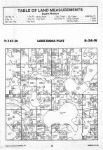 Lake Emma T141N-R34W, Hubbard County 1988 Published by Farm and Home Publishers, LTD