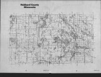 Index Map, Hubbard County 1989