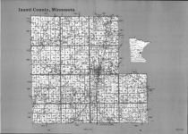 Index Map, Isanti County 1991
