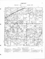 Comfort Township, Spence Lake, Spring Creek, Kanabec County 1961 Published by Thomas O. Nelson Co