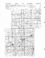Kanabec County Highway Map, Kanabec County 1961 Published by Thomas O. Nelson Co