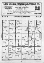 Lake Lillian T117N-R34W, Kandiyohi County 1990