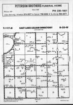 East Lake Lillian T117N-R33W, Kandiyohi County 1990