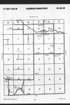 Map Image 019, Kittson County 1989