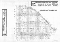 Index Map, Lac Qui Parle County 1987