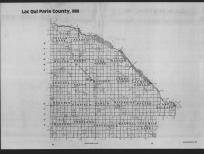 Index Map, Lac Qui Parle County 1989