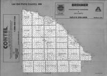 Index Map, Lac Qui Parle County 1990
