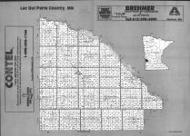 Index Map, Lac Qui Parle County 1991