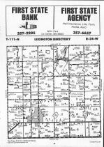 Map Image 013, LeSueur County 1991
