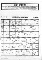 Map Image 004, Lincoln County 1986